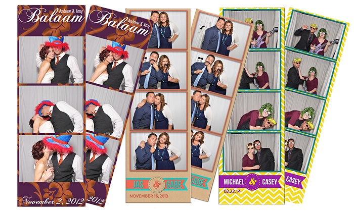 Clementine Photo Booths - Sacramento: Two- or Four-Hour Open-Air Photo-Booth Rental with Unlimited Prints and Props (Up to 60% Off)