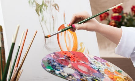 $45 for Two Three-Hour Beginner's Art Classes at Losina Art Center ($97 Value)