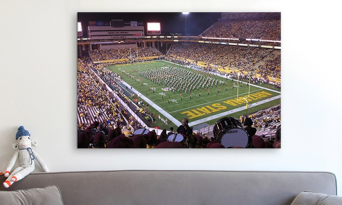 Panoramic NCAA Stadium Canvas Prints: Panoramic NCAA Stadium Canvas Prints (Up to 80% Off). Multiple Stadiums and Sizes Available. Free Shipping and Returns.