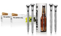 GROUPON: Corkcicle Sets: 2 Wine Chillers or 4 Beer Chillsners Corkcicle Sets: 2 Wine or 4 Beer Chillers