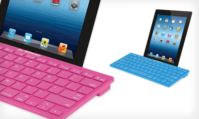 Merkury Innovations Bluetooth Keyboard: $28 for a ColorKeys Bluetooth Keyboard ($59.99 List Price). Seven Colors Available. Free Shipping and Free Returns.