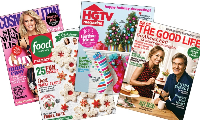 Hearst Magazines: $5 for a One-Year Magazine Subscription from Hearst Magazines ($15 Value)