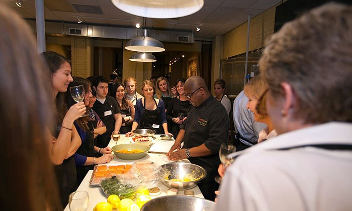 Bespoke Cuisine - West Loop: $49.50 for Admission to Public Mix It Up Cooking Party at Bespoke Cuisine (Up to $80 Value)