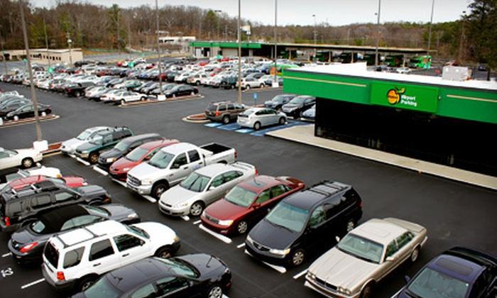 Peachy Airport Parking - Atlanta: 2, 4, 6, or 10 Consecutive Days of Outdoor Parking at Peachy Airport Parking (Up to Half Off)