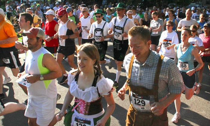 Sankt Nikolaus Lauf, LLC - Downtown Indianapolis: Entry for One or Two in a 5K Race from Sankt Nikolaus Lauf, LLC on Saturday, October 13 (Up to 52% Off)