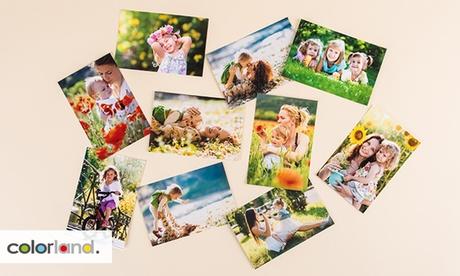 Hasta 500 fotos digitales impresas en tamaño a elegir con Colorland (hasta 66% de descuento)