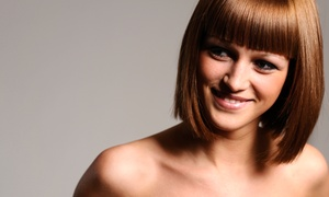 Hair by Melanie: Cut, Deep Conditioning, and Blow-Dry or Color, Cut, Shampoo, and Conditioning at Hair by Melanie (Up to 56% Off)