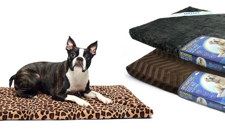 Memory-Foam Crate Mat for Small and Medium Dogs