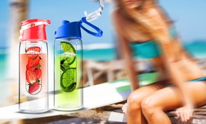 Asobu Pure Flavour 2 Go Water Bottle Two-pack