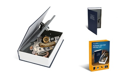 Up to Three Home Dictionary Book Safes with Key Locks from AED 49 (Up to 88% Off)