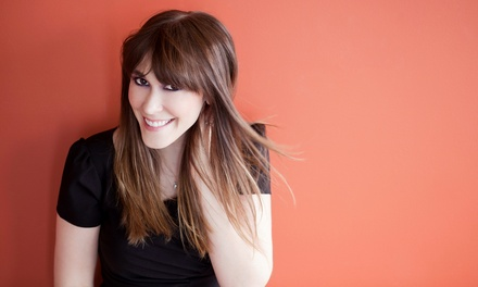 Haircut with Optional Color or Partial or Full Highlights at HairdesignsbyJJ (Up to 53% Off)
