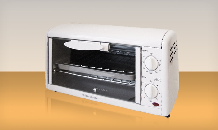 Toastmaster 4 Slice Toaster Oven Broiler