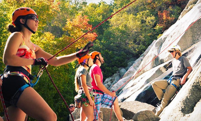 Mountain Education & Development - East Central: Full-Day Outdoor Rock Climbing for One or Two from Mountain Education & Development (Up to 53% Off)