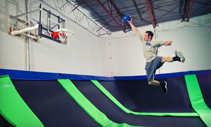 G6 Airpark - Vancouver: Two Hours of Open-Jump Time or One G6 Summer Pass at G6 Airpark (Up to 86% Off)