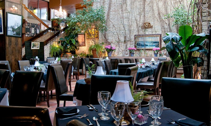Aroma Mediterranean Restaurant - Downtown London: Mediterranean Cuisine for Two or Four at Aroma Mediterranean Restaurant (38% Off)