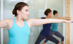 Radiant Yoga Studio and Boutique: Ten Classes or One Month of Unlimited Classes at Radiant Yoga (Up to 73% Off)