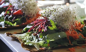 Raw Vegan Cuisine for Two or Four or more People at Rawthentic (Up to 40% Off)