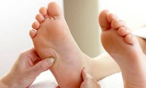 Happy Feet Spa: 60-Minute Foot Reflexology Session at Happy Feet Spa (32% Off). Two Locations Available.