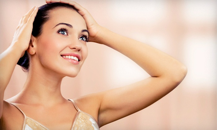 Hometown Laser Clinic and Spa - City Centre: Six Laser Hair-Removal Sessions at Hometown Laser Clinic and Spa (Up to 82% Off). Four Options Available.
