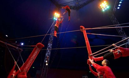 image for Moscow State Circus, 28 March - 22 April, Three Locations (Up to 52% Off)