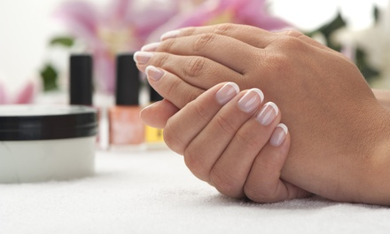 One or Two Regular or Shellac Manicures at Salon 130 (Up to 58%Off)