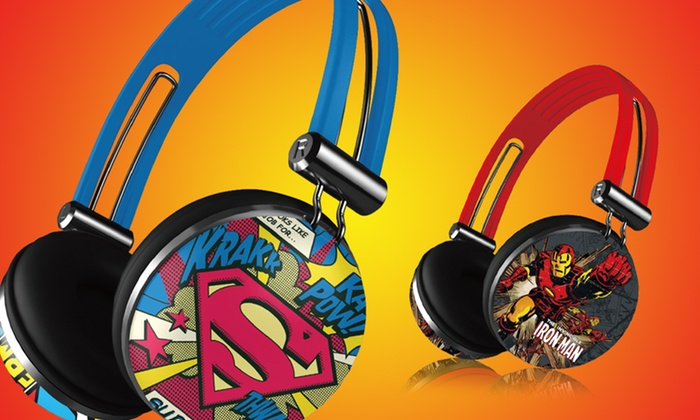 Superhero Aviator Headphones: $9.99 for One Pair of Superhero Aviator Headphones ($19.99 List Price). Free Returns.
