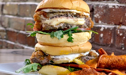 $20 for $40 Worth of Locally Sourced Burgers at A&B Salem