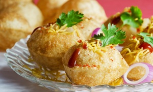 Chaat N Roll: Indian Street Food at Chaat N Roll (Up to 40% Off). Two Options Available.