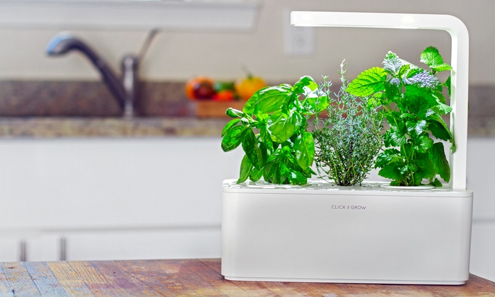 Click & Grow: $59 for a Smart Herb Garden from Click & Grow ($99.95 Value)