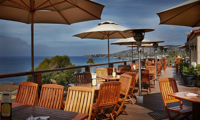 The Rooftop Lounge - Laguna Beach: $37 for $50 Worth of California and New American Cuisine at The Rooftop Lounge