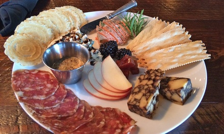 New American Lunch Cuisine, Cocktails, or a Charcuterie Board at Finch & Fifth (Up to 40% Off)