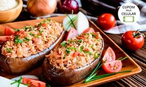 Sabores do Líbano: Prato + sobremesa para 1, 2 ou 4 pessoas no Sabores do Líbano – Consolação