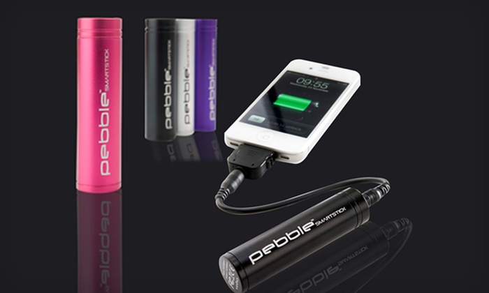 Veho Portable Battery Charger for iPhone, Smartphone, iPads, and Tablets: $19 for a Veho Pebble Smartstick Battery Charger ($44.95 List Price). Four Colors Available. Free Shipping and Returns.