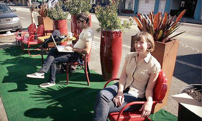 LAND Studio - Ohio City: If 50 People Donate $10, Then LAND Studio Can Provide 50 Plants for Cleveland's Annual PARK(ing) Day