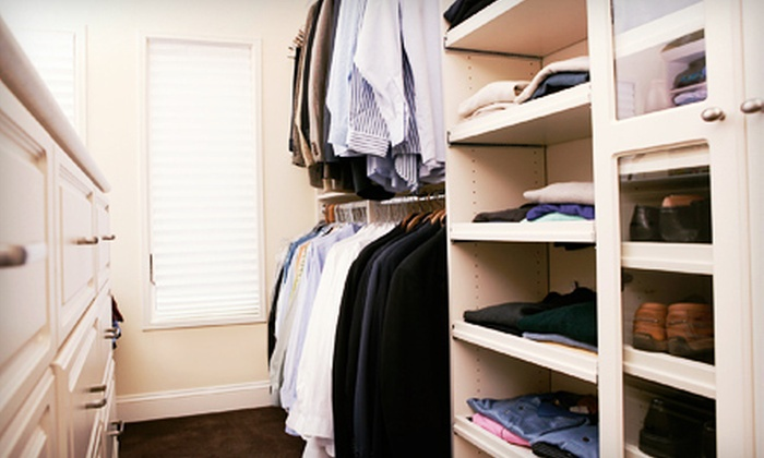 Essential Closets - Washington DC: $199 for a Custom 6-Foot Closet at Essential Closets ($450 Value)