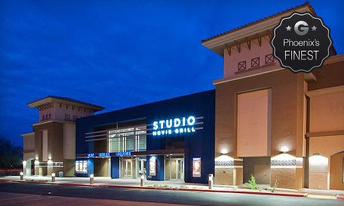 Studio Movie Grill - Scottsdale: $5 for Movie Outing with Ticket and Soda at Studio Movie Grill (Up to $12.49 Value)