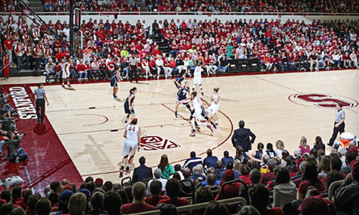 NCAA Women's Basketball Championship First and Second Rounds - Stanford: $22 for the NCAA Women's Basketball Championship First & Second Rounds at Maples Pavilion on March 24 & 26 ($45 Value)
