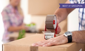 Skinny Wimp Moving Co: $249 for Three Hours of Moving Service with Two Movers from Skinny Wimp Moving Co. ($500 Value)