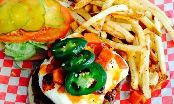 The Burger Bar - Downtown Amarillo: Burgers at The Burger Bar (Up to 45% Off)