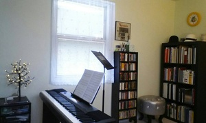 Thompson Voice Studio: A Private Music Lesson from Thompson Voice Studio (44% Off)