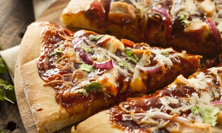 Choice of Two Pizzas Off the Menu 24/7 for R69 at Pavilion Hotel Restaurant