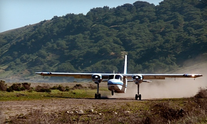 Channel Islands Aviation - Camarillo:  Deluxe Island Day Trip with Flight and Tour for One, Two, or Four from Channel Islands Aviation (Up to 49% Off)