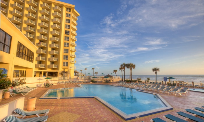 null - Daytona Beach: Stay for Up to Five at Plaza Ocean Club Hotel in Daytona Beach, FL