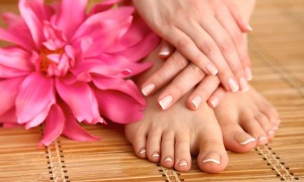 3 manicure e pedicure