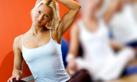 Four Yoga Classes at Gina's MaxFit (71% Off)