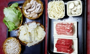 Banzai Sushi: $25 for a Japanese Shabu Shabu Hot Pot for Two People at Banzai Sushi, Eden Terrace (Up to $45 Value)