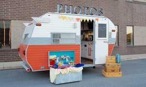 Pittsburgh Camper Booth: Four or Five Hour Photobooth Rental from Pittsburgh Camper Booth (Up to 45% Off