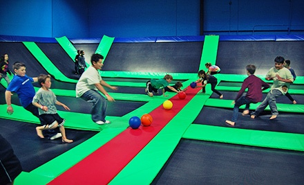 Two Hours of Indoor Trampoline Play for Two or Four at Bounce! Trampoline Sports (Up to 52% Off)