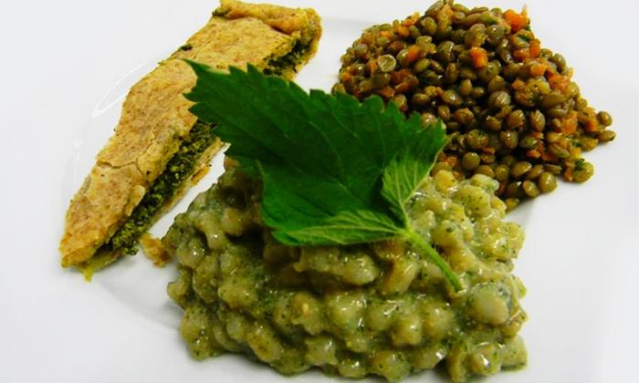 SALE IN ZUCCA - Torino: Sale In Zucca - Menu vegano e biologico con bis di antipasti, primo, secondo e dolce in centro (sconto fino a 70%)