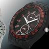 Geneva Platinum Stone Men's Watch